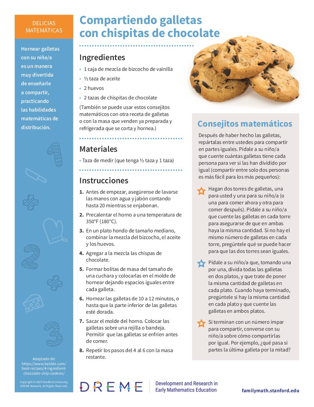 Download Compartiendo galletas con chispitas de chocolate PDF