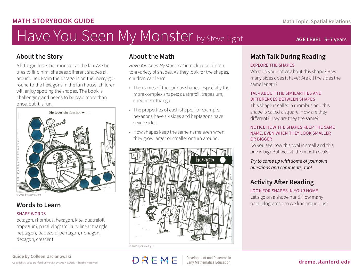 Download Have You Seen My Monster? Storybook Guide PDF