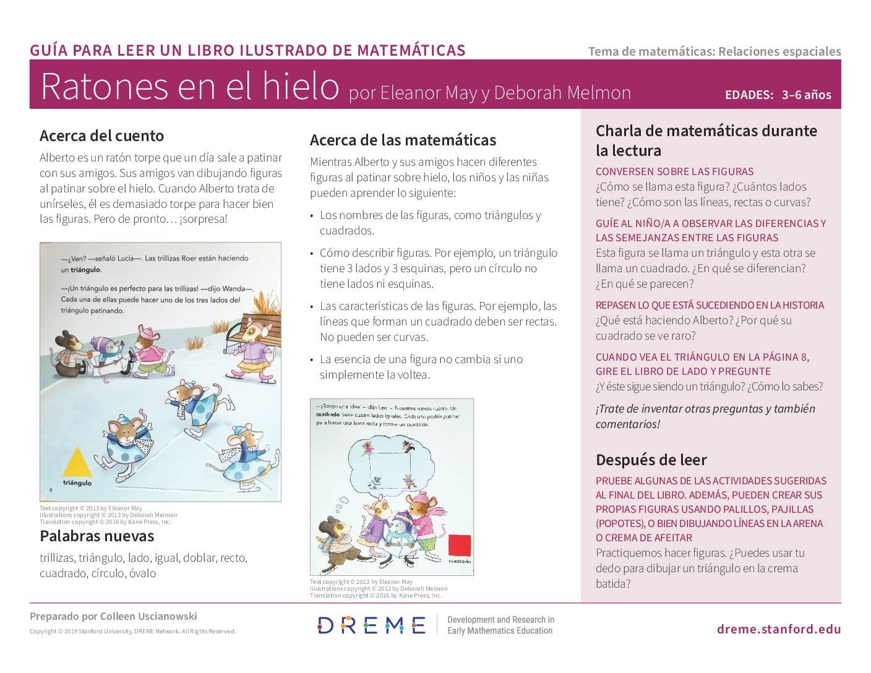 Download Storybook Guide for Mice on Ice (en Español) PDF